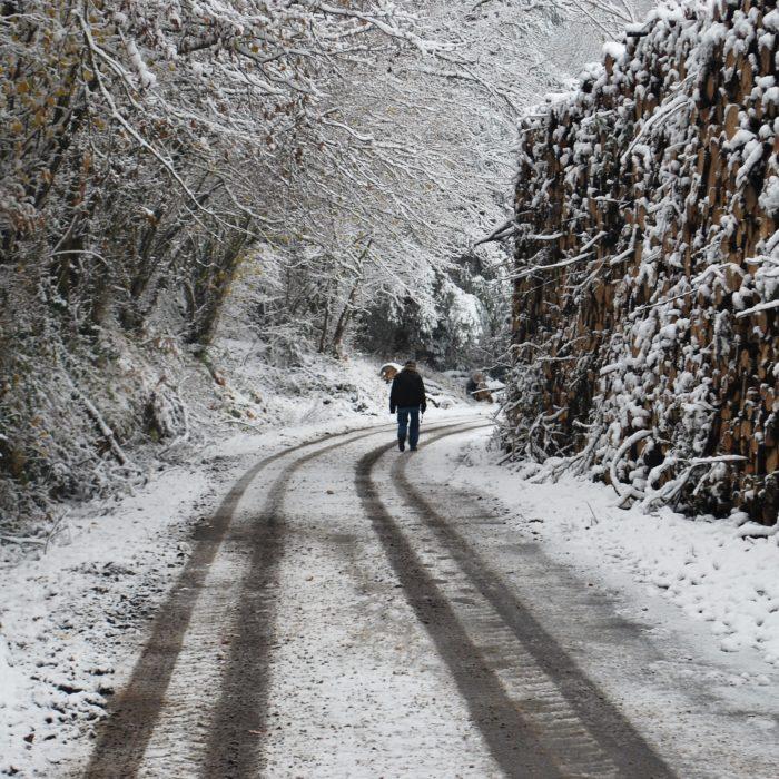 Sneeuw in de Creuse