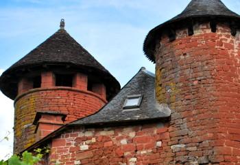 Collonge la Rouge, monumentendorp in de Limousin