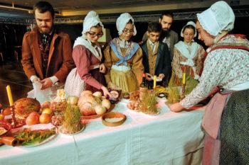 Kerstmaal in de Provence
