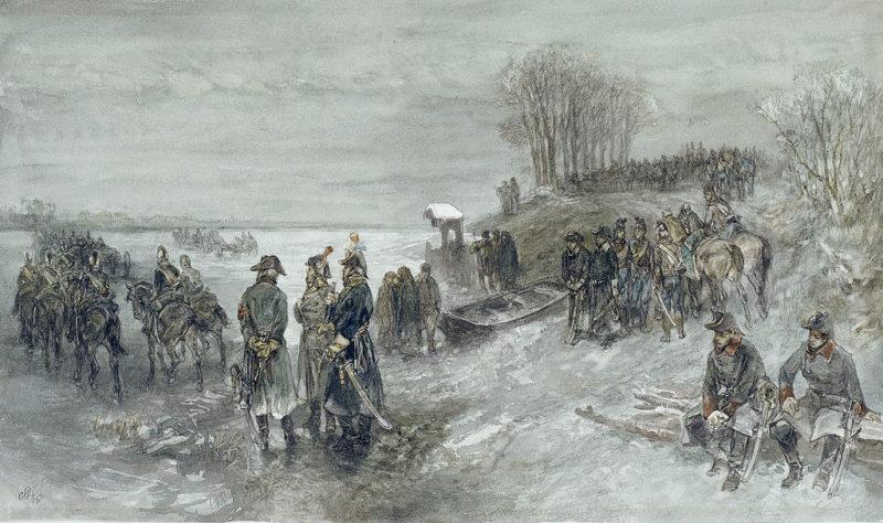 De Franse generaal Pichegru valt Nederland binnen