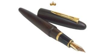 'Geef maar een pen'