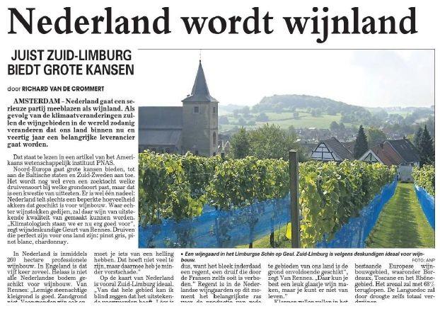 Nederlandse wijnen