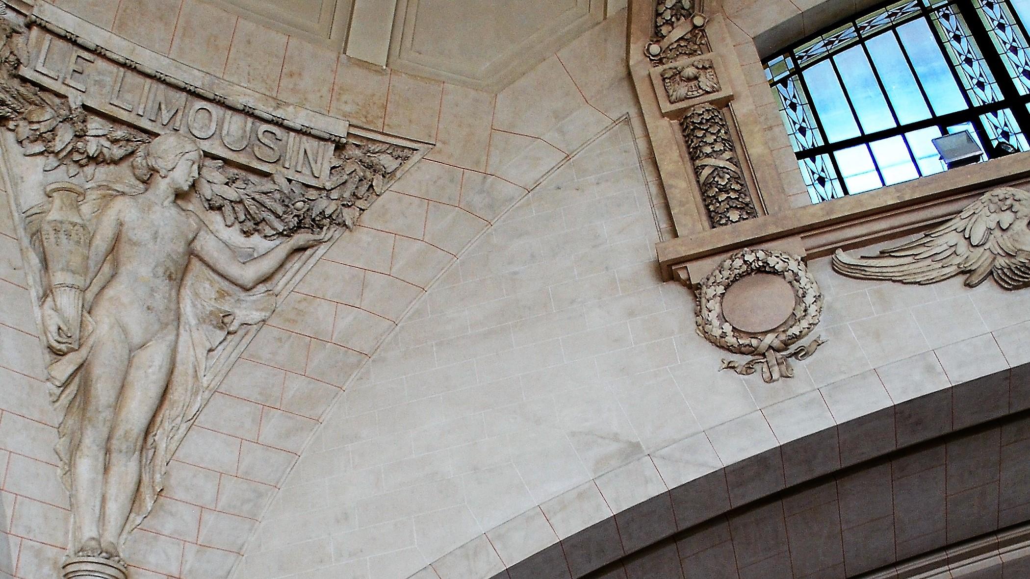 Limoges-Bénédictins, tempel voor de treinreiziger