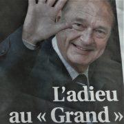 Persoonlijk adieu aan Jacques Chirac