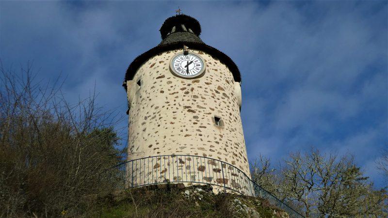 De klokkentoren van Aubusson